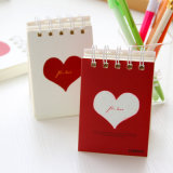 Spiral Binding Notebook with Softcover for Gifts
