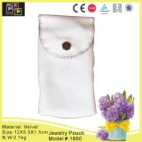 Pink Easy Carried Jewelry Velvet Pouch (1860)