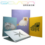 Lovely Animal Printing Wire-O Binding Exercise Notebook