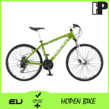 "New Fashion Aluminum Mountain Bike, 26"" 21sp, Green"