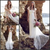 Lace Beach Wedding Dresses Anna Bohemian Empire Bridal Gowns Ld1515