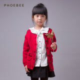 Phoebee Wool Children Jacket Fashion Clothes for Girls