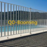 Customized Powder Coated Flat Top Steel Fencing for Swimming Pool