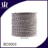 Nice Spools of Jewelry Metal Ball Necklace Chain with Connect