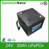24V 30ah LiFePO4 Battery Pack for Electric Vehicles