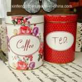 Coffee and Tea Tin Box Set