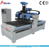 Double Carousel Design 9kw Air Cooling Spindle Atc CNC Router Machine 1325