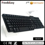 Cheapest Hot Sell Slim 104 USB Wired Keyboard for Desktop