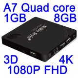 4k Android TV Box Powered by Allwinner H3 Processor