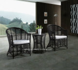 Popular Design Wicker Furniture Outdoor Garden Dining Set with Table and Chairs (YT615)