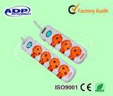 Hot-Sale 2 Pin 3 Way Electric Plug& Socket