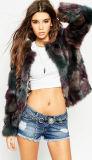 High Quality Woman Faux Fur Coat