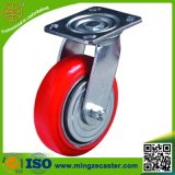 Korea Type Inustrial PU Wheels Heavy Duty Swivel Caster
