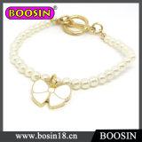 Kids Jewelry Sweet White Bowknot Pearl Bracelet