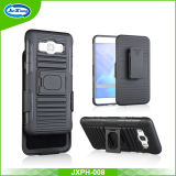 New on Market PC TPU Combo Case, Buckle Ring Kickstand Cell Phone Case