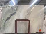Green Kangba Jade Marble Slab for Tile and Countertop