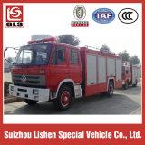 Dongfeng 4X2 Fire Truck Cummins 190HP, 6000L Tank