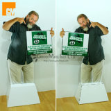 Fashion Cardboard Advertising People Display Standee with Cheaper Price