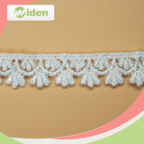 Soft White Polyester African Chemical Lace