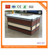 High Quality Shop Supermarket Checkout Counter with Good Price 09053