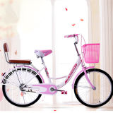 China Popular City Bike Ladies Cycle Pink Bicycle for Sale