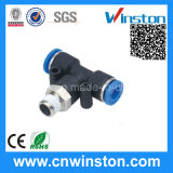 Mini Plastic Pneumatic Tube Air Fittings with CE