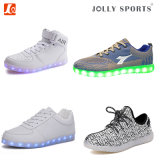 Footwear OEM with LED Light Comfort Sports Casual Shoes for Men