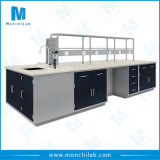 Lab Equipment All Steel Biotechnology Laboratory Island Bench