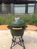 24 Inch Kamado PRO Ceramic Charcoal Smoker Grill Green