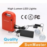 Portable and High Performance LED Solar Home Lighting Kit System