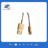 Gold Color USB Cable for iPhone5/6/5c