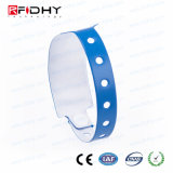 Disposable Adjustable PVC RFID Wristband for Children Safety