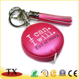 Leather Tapeline with Keychain and Hand Tools Leather Tape with Tassels