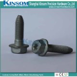 Hexagon Six Lobe Flange Machine Screw Shape Point Shank Dacromet Fasteners