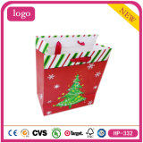 Chriatmas Trees Lovely Baby Presents Coated Paper Shopping Bag