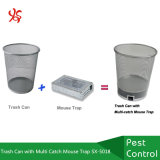 Trash Can with Multi Catch Mouse Trap