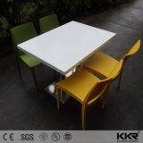 Solid Surface Restaurant Furniture Dining Table Set