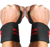 Adjustable Neoprene Wrist Wrap Lifting Strap Support with Thumb Strap