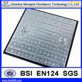 BS Stainless Steel Double Triange Octagonal Manhole Cover Grating Frame