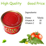 Grade a Quality Tomato Paste 28-30% Brix Canned Tomato Paste