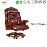 Wooden Office Furniture Luxury Executive Chair (A-050)