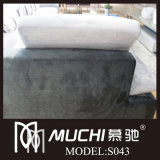 2014 New Luxurious Latex Fabric Sofa (S043)