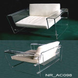 Modern Clear Acrylic Living Room Sofa Btr-Q6006