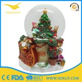 High Quality Tree Snow Globe Gift for Christmas
