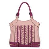 Women PU Leather Designer Lady Fashion Handbag (MBLX033017)