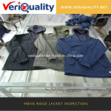 Mens Ridge Jacket Pre-Shipment Inspection Service / Garment Quality Inspection Services