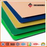 Ideabond Polyester 0.2mm Interior Aluminum Composite Panel (AF-402, Ivory White)