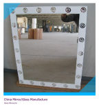 5mm Silk Screen Printed Silver Mirror From Qingdao (SMI-SC1001)