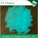 Sky Blue Decorative Glow Glass Granule