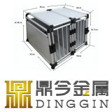 Portable Aluminum Dog House with 2 Doors